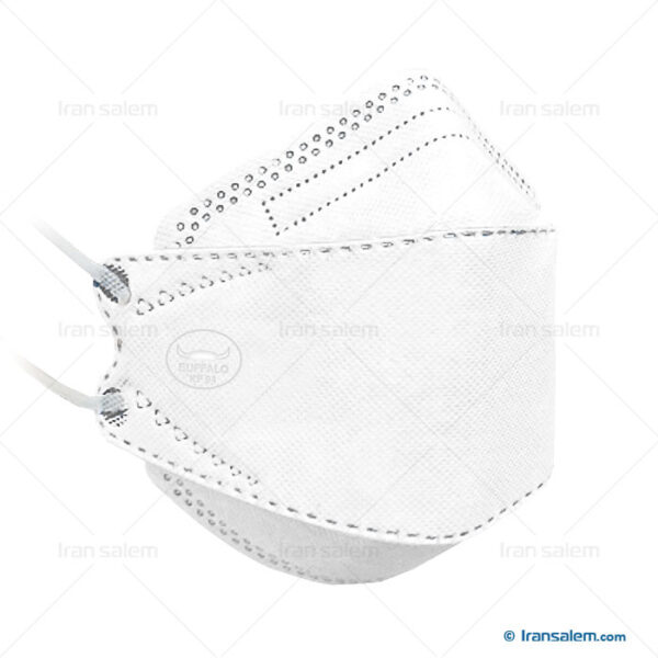 ماسک 5 لایه بوفالو سفید