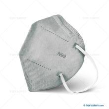 ماسک بدون سوپاپ I99 رسپی نانو ریما وی تایپ V-type (10 عددی)