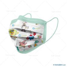 ماسک کودک اکسیژن (۳۰ عدد)