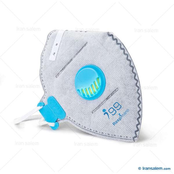 ماسک سوپاپ دار نانو i99 کربن فعال ریما