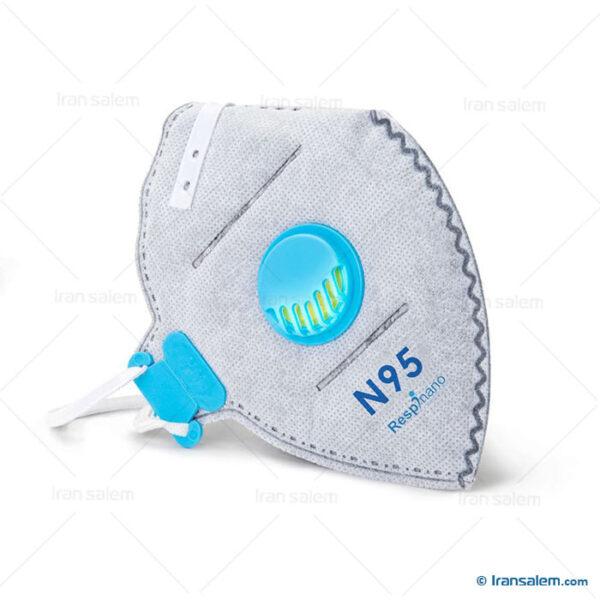 ماسک N95 سوپاپ دار رسپی نانو ریما